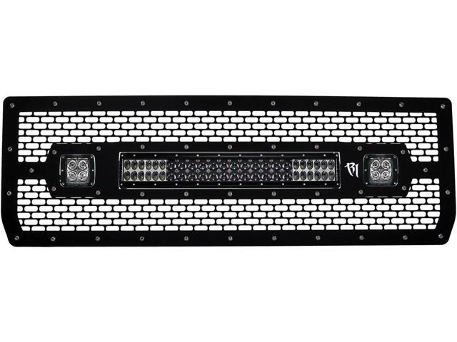 Rigid Industries 40573 LED Grille Fits 14-15 Sierra 1500
