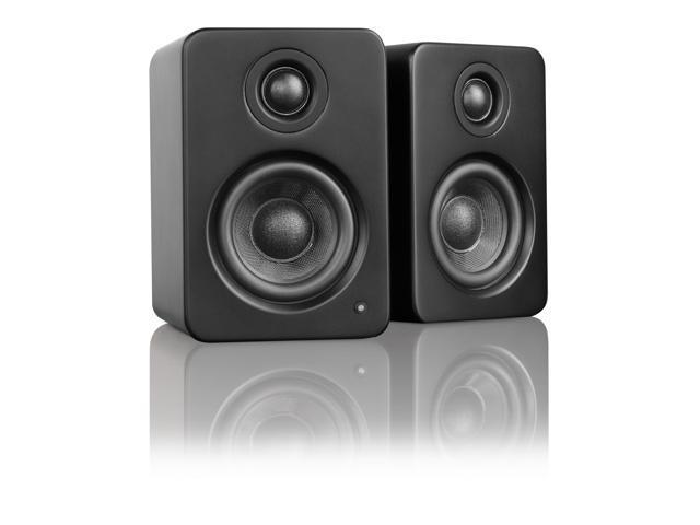 Kanto YU2 Powered Desktop Speakers, Matte Black