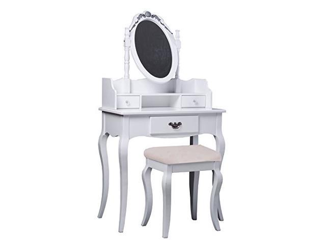 HomCom Antique-Styled Vanity Dressing Table