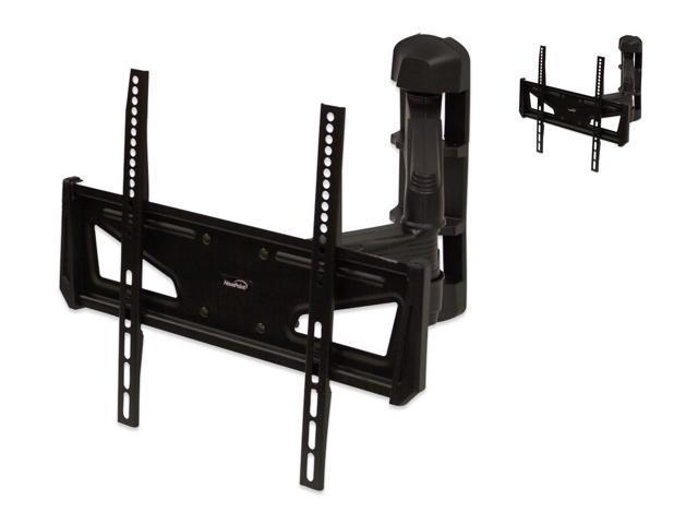 navepoint articulating corner wall mount bracket withtilt swivel for led lcd plasma flat screen. Black Bedroom Furniture Sets. Home Design Ideas