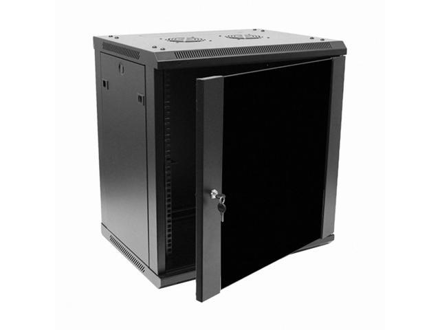 Navepoint 12u wallmount networking cabinet 450mm depth for Kitchen cabinets 450mm depth
