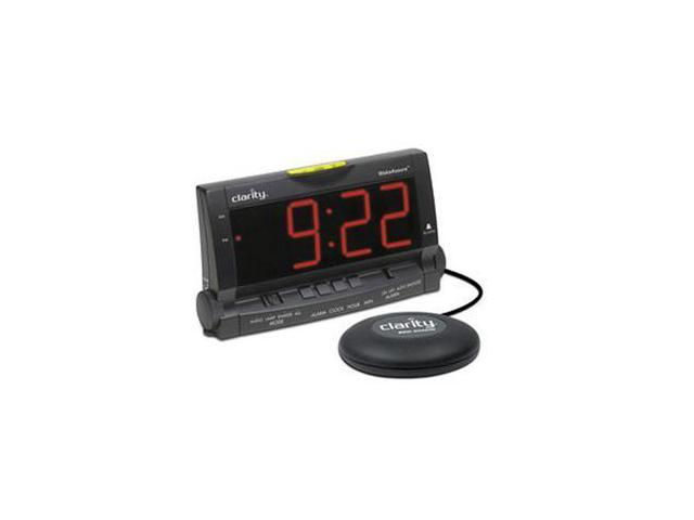Clarity Alarm Clock with Bed Shaker and Lamp Flasher