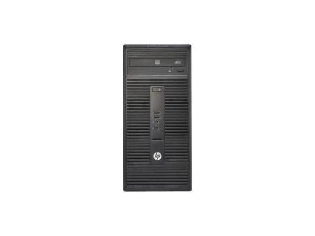 HP 280 G1 (P0C86UT#ABA) Desktop PC- Intel Pentium G3260 (3.3 GHz), 4GB DDR3 500GB HDD, Intel HD Graphics, Windows 7 Professional 64-Bit