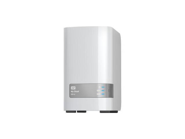 Western Digital WDBWVZ0040JWT-NESN My Cloud Mirror Gen2 Nas 4Tb 2Bay Personal Cloud Storage Raid