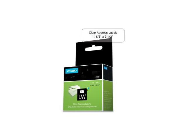 Sanford Lp 30254 Clear Address Label 1-1-8 X 3-1-2