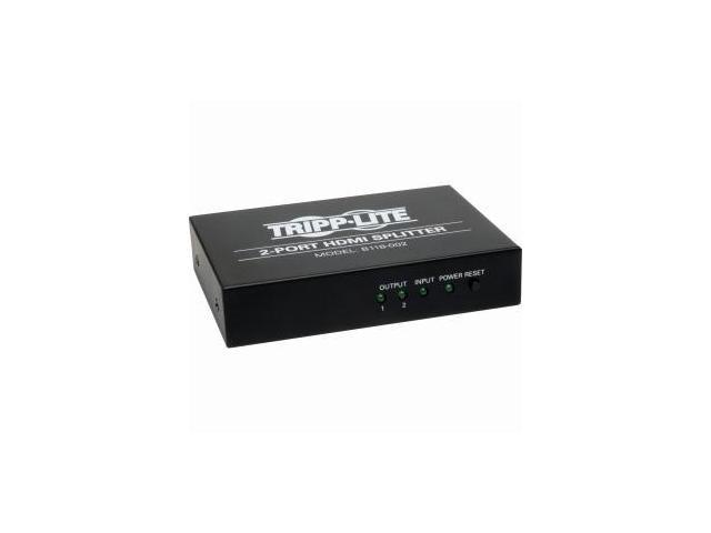 Tripp Lite B118-002 2-Port HDMI Splitter for Video with Audio