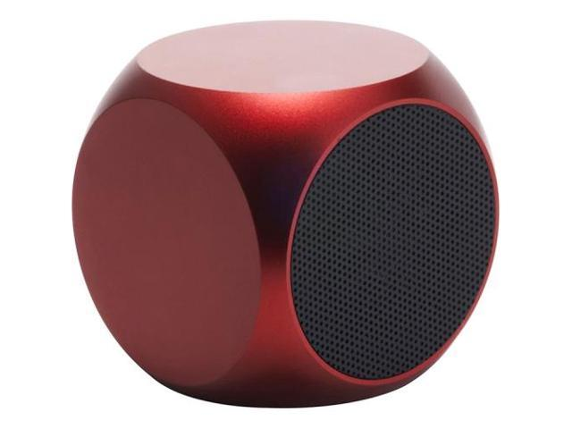 Matrix QUBE Rechargeable Red Universal Aluminum Speaker