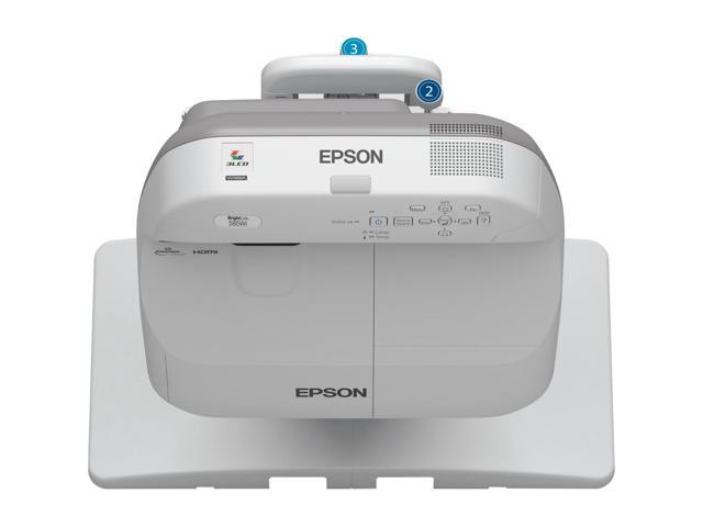 Epson BrightLink 585Wi LCD Projector - HDTV - 16:10