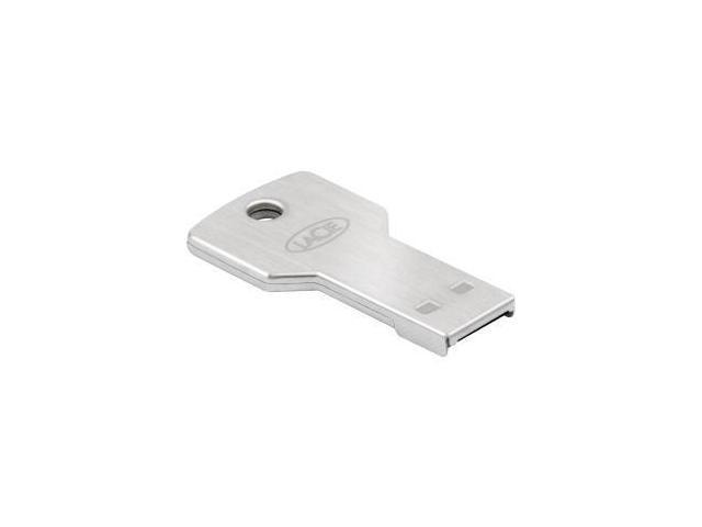 LaCie 8GB PetiteKey USB 2.0 Flash Drive 256bit AES Encryption Model LAC9000346