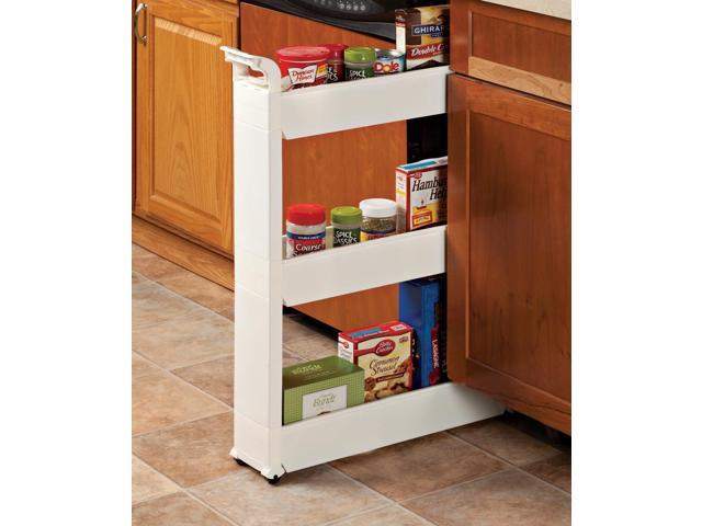 Rolling Storage Cart   Slide Out Storage Tower   Roll Out Shelves