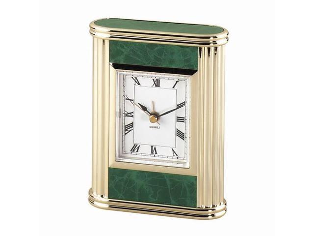 Green Marble Table Desk Clock: 4