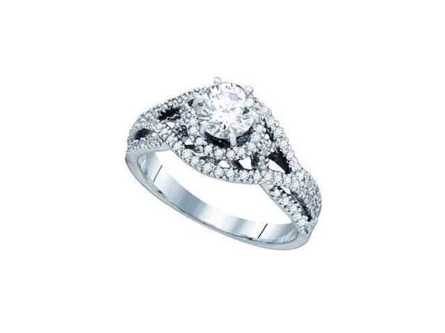 7 8 carat 14k white gold engagement ring newegg