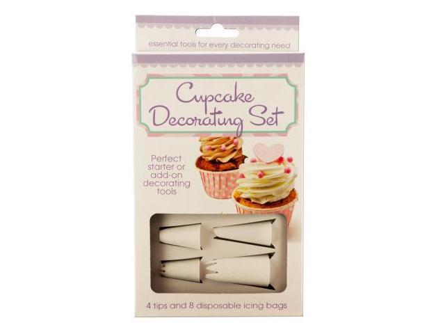 cupcake decorating set set of 12 kitchen dining baking