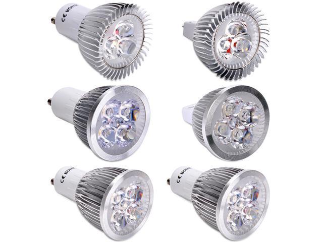 White Energy Saving Power 3W 4W 5W Gu10/Mr16 LED Spot Light Lamp Bulb Warm CoolON SALE ! AMAZING PRICE ! PURCHASE FAST ,Time ...