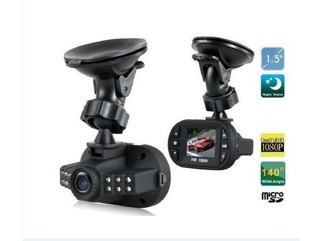 "1.5"" LCD 1080P G-sensor Full HD DV Car DVR Cam Dash Video Recorder Night Vision AP00023BK"