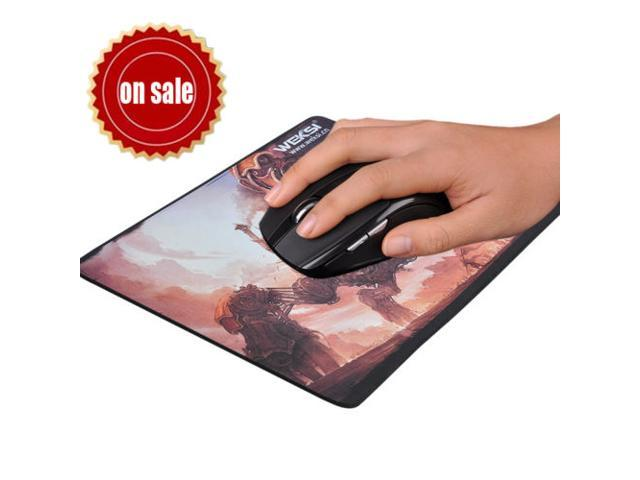 Black 2.4GHZ Wireless Control Adjustable DPI 800/1200/1600 Gaming Mouse For PC updated version+Mouse Pad