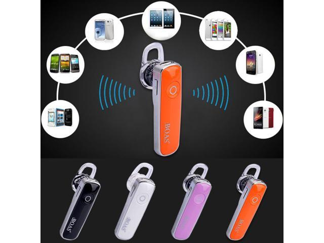 Universal Stereo Wireless Bluetooth V3.0 Handsfree Headset Earpiece earphone