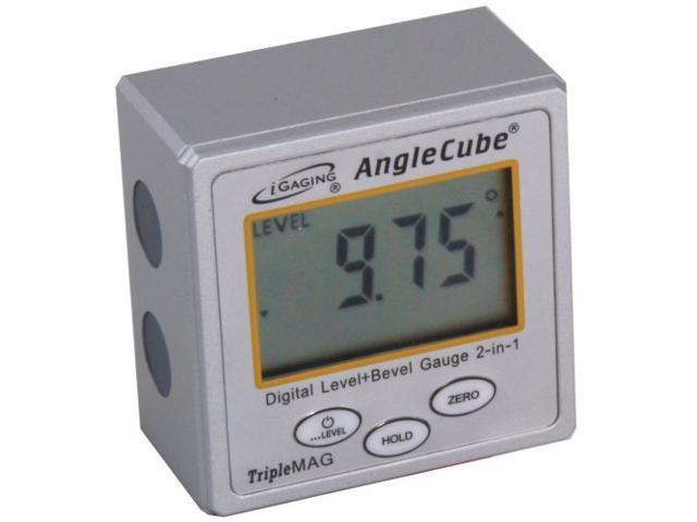 iGaging Angle Cube Digital Electronic Level + Bevel Gauge 2 in 1