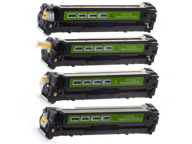 Supplies Outlet HP 131A Toner Cartridge Set For HP Color LaserJet 200, Compatible