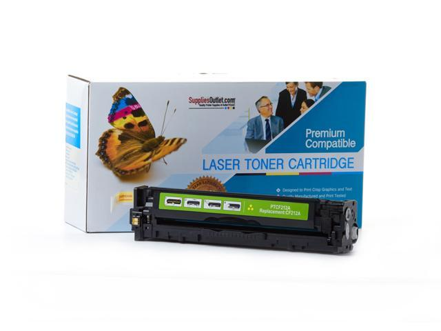 Supplies Outlet HP CF212A Yellow Laser Toner Cartridge, (HP 131A) Compatible