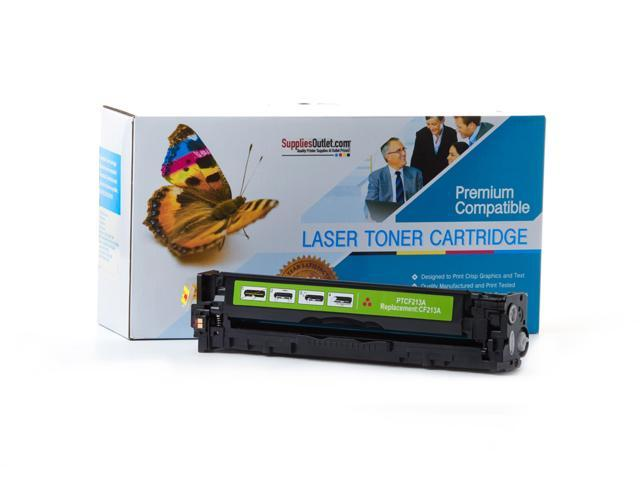 Supplies Outlet HP CF213A Magenta Laser Toner Cartridge, (HP 131A) Compatible