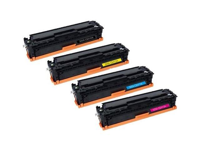 Supplies Outlet Hp 305a Toner Cartridge 4 Color Set