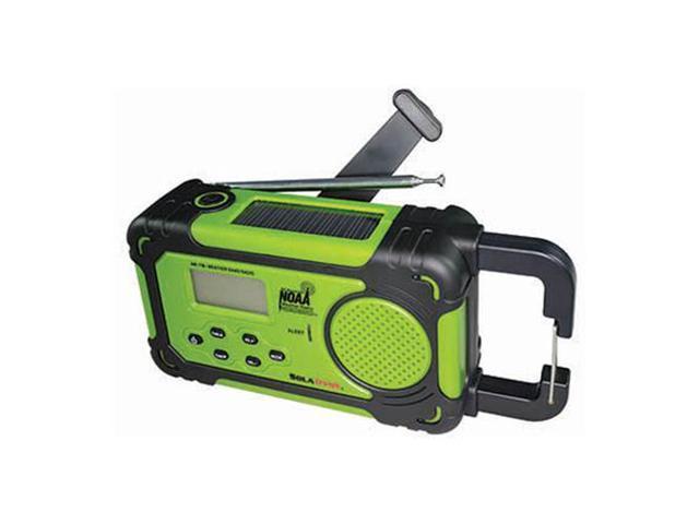 Emergency Alert Radio & Flashlight