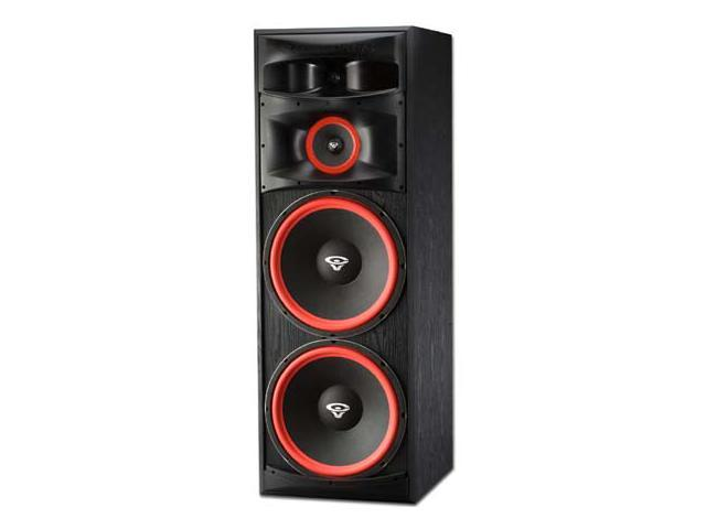 home theater tower speakers. cerwin vega xls-215 home theater floor standing tower speakers dj