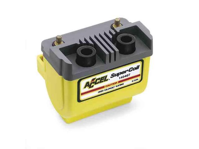 Accel 140407 SUPER COIL-ELECTRNC,YLW,ACCEL