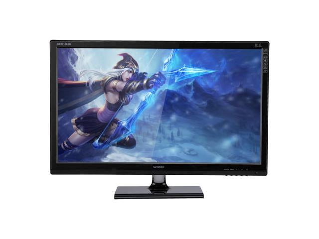 "QNIX QX2710 LED Evolution II DPmulti TRUE10 27"" Matte 27-Inch 2560x1440 AH-VA Panel DVI HDMI DisplayPort Monitor"