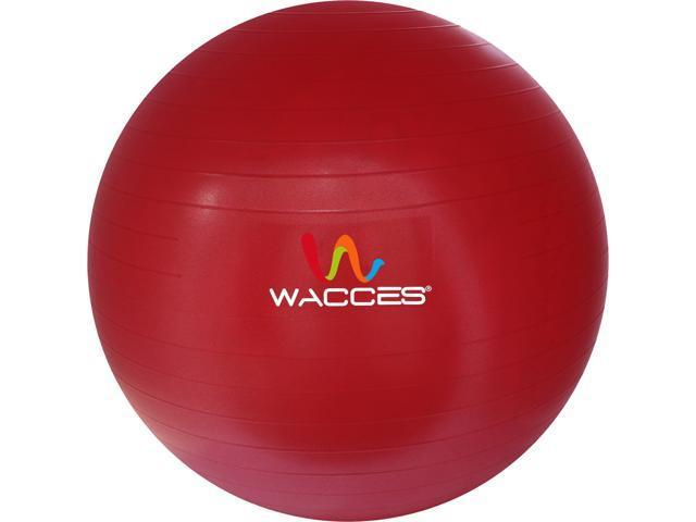 Wacces 75cm Black Fitness & Yoga Ball + Air Pump