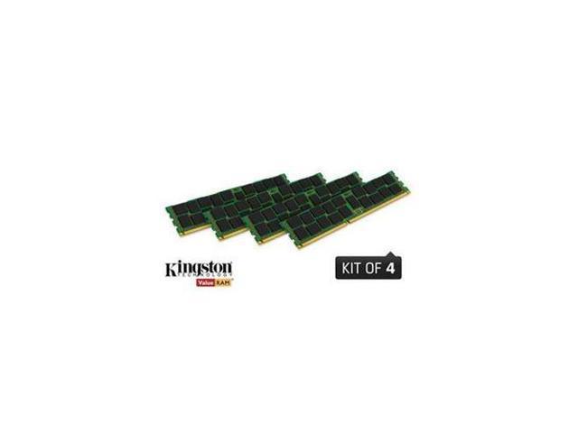 Kingston 32GB (4 x 8GB) 240-Pin DDR3 SDRAM ECC DDR3 1600 (PC3 12800) Server Memory Model KVR16LE11K4/32I
