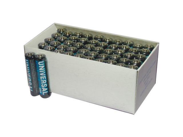 UNIVERSAL BATTERY D5323 D5923 Super Heavy-Duty Battery Value Box AAA 50-pk