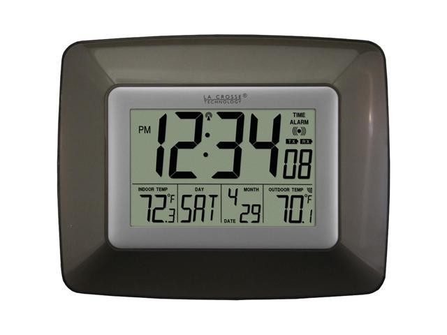 La Crosse Technology Ws-8119U-It-Cho Atomic Digital Clock With Wireless Out Temp