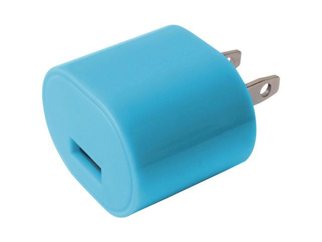 iessentials IE-AC1USB-BLU 1A Usb Wall Charger Blue