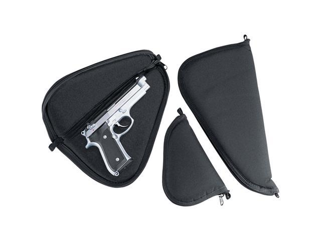 Uncle Mike's Gun Case, Black - 2-3 inch Barrel Small and Medium Autos -