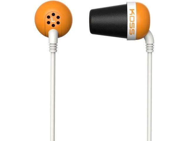 Orange Plug Colors In-Ear Headphones