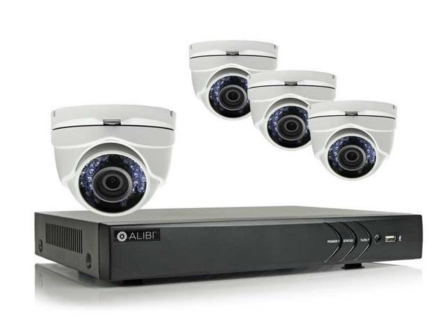 Alibi 4 Camera 2 1 Megapixel 65 Ir Hd Tvi Hybrid Outdoor