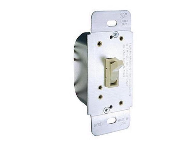 Ace 32217 Ivory Three Way Toggle Dimmer Light Switch