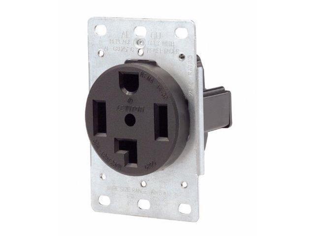 leviton flush mount receptacle outlet dryer oven range