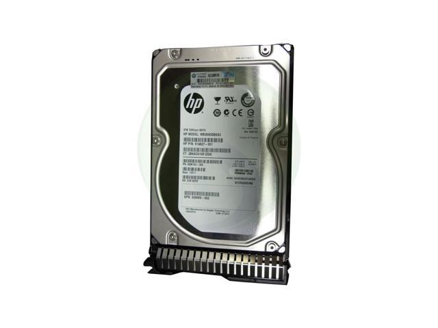 HP 614827-001 3Tb 7200Rpm 3.5Inch 6G Sata Sc Lff Midline Hard Drive With Tray For Gen8 Servers Only