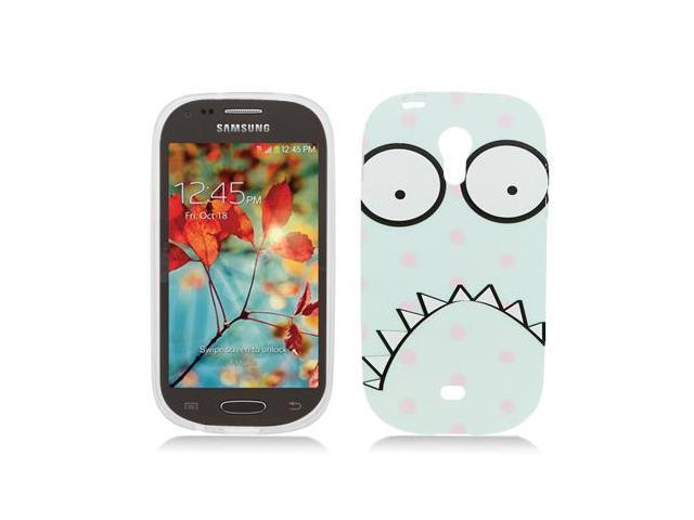 for samsung galaxy light t399 polka dot monster case cover newegg. Black Bedroom Furniture Sets. Home Design Ideas
