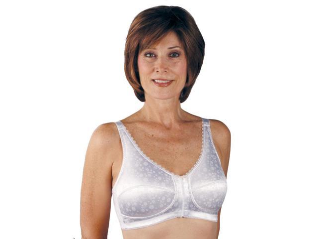 Classique 732 Post Mastectomy Fashion Bra-White-34DD