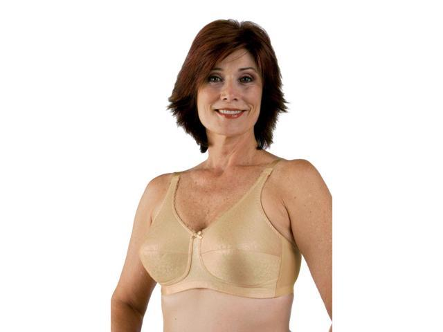 Classique 772E Post Mastectomy Fashion Bra-Blush Beige-44C