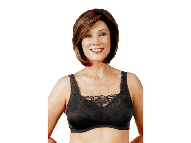 Classique 765SE Post Mastectomy Fashion Bra-Black-36DD