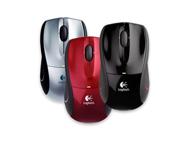 Logitech Wireless Mouse M505 (910-001326) Silver 3 Buttons Tilt Wheel USB RF Wireless Laser Mouse