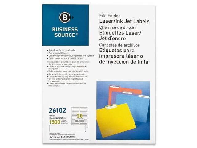 File Folder Labels Laser/Inkjet 2/3