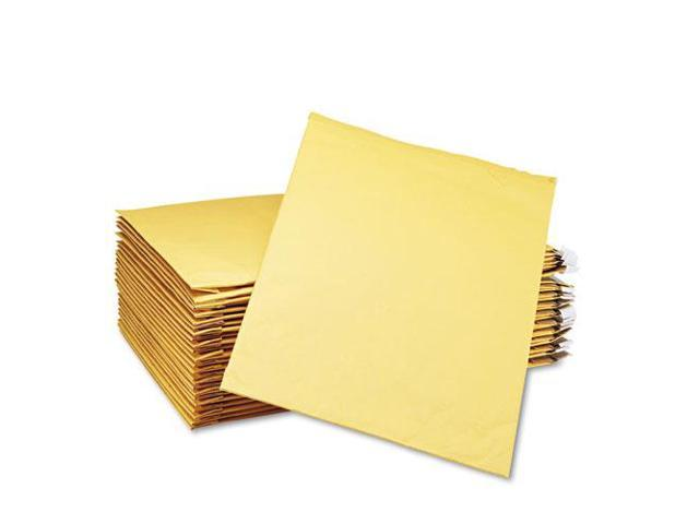 """SEL21490 Padded Mailers, Peel and Seal, 12-1/2""""x19"""", 25/CT, Kraft"""