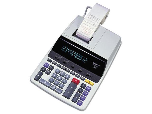 EL2630PIII Two-Color Printing Calculator Black/Red Print 4.8 Lines/Sec