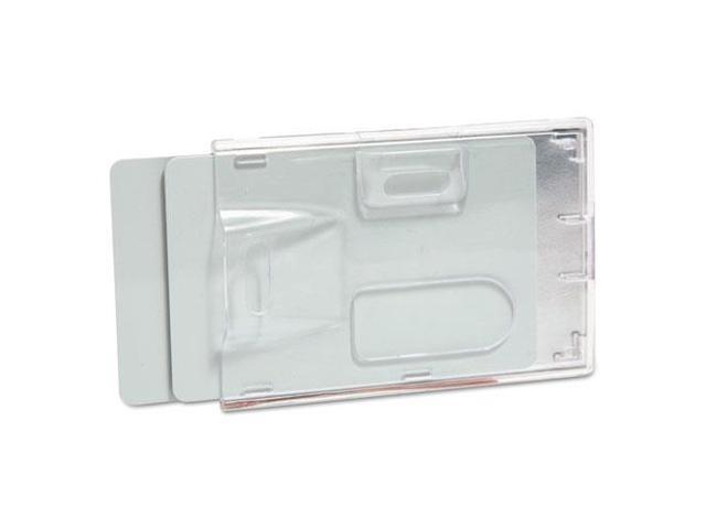 Sealable ID Card Holders Vertical 3-3/4